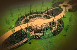 Justice Garden Path: Lorna Jordan
